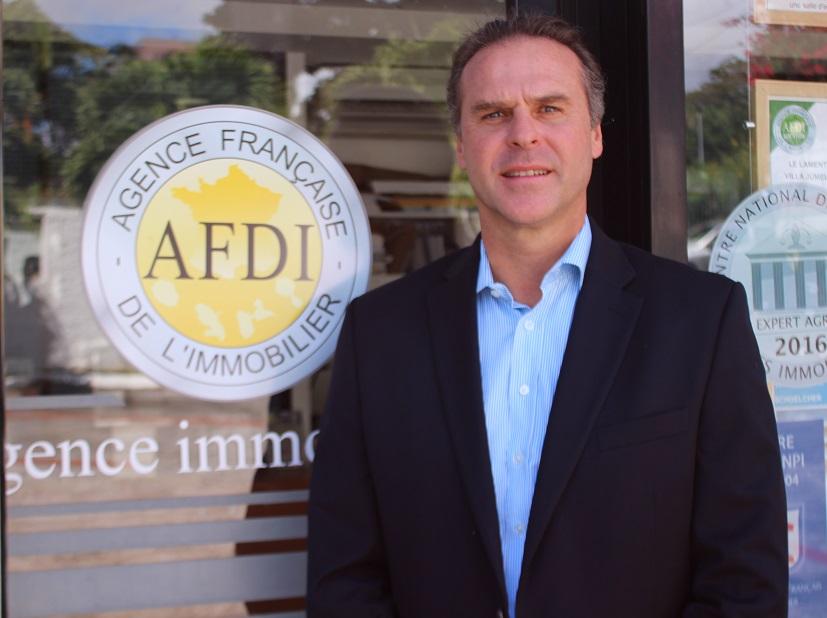 Photo Laurent Vanoverschelde, directeur de l'Agence Française De l'Immobilier (AFDI)